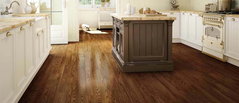 Stained-hardwood-oak-floors